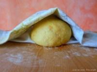 L'impasto a riposo - The dough is resting ... :: Cicerchiata abruzzese | recipe and photo: ©SaraScutti