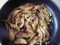 Artichokes precooking time... | Recipe and Photo ©SaraScutti