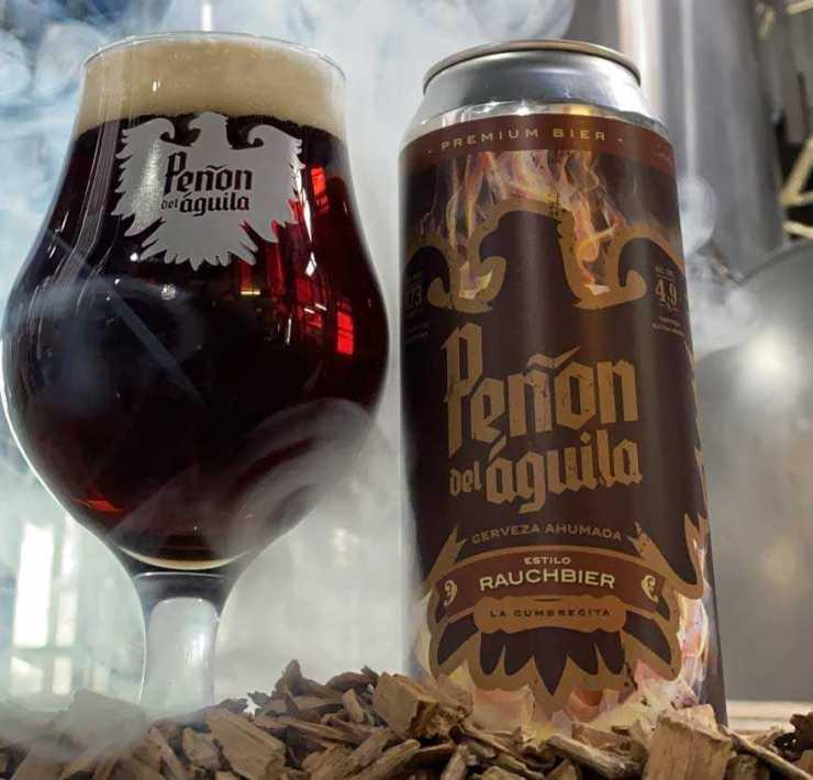 Rauchbier Peñón del Águila Cerveza Artesanal