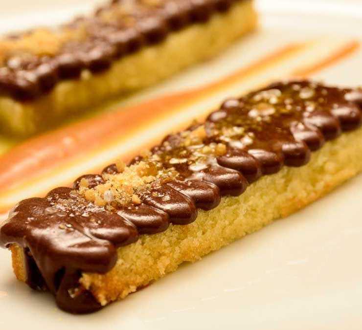 Biscuit de Almendras de Leonardo Fumarola