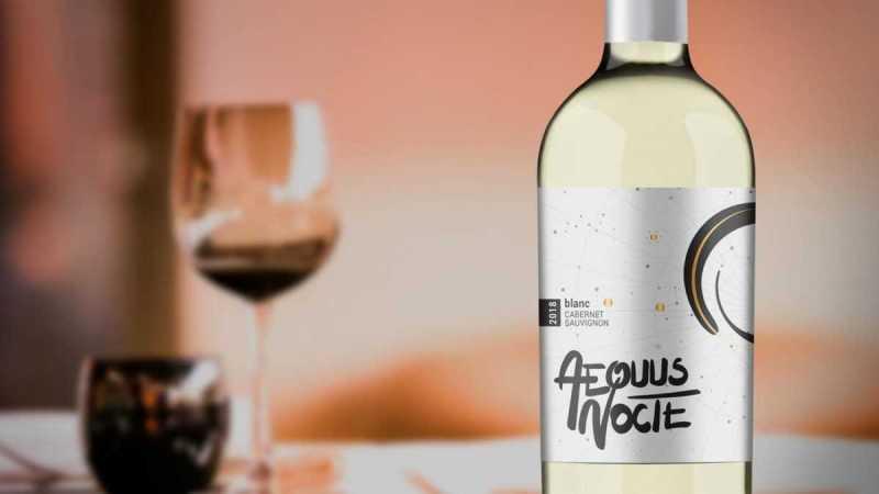 Aequus Nocte Blanc de Cabernet Sauvignon