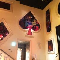 Alice in Wonderland: themed restaurant in Shibuya