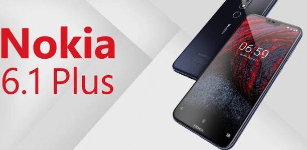 أسعار ومواصفات موبايل نوكيا Nokia 6.1 Plus
