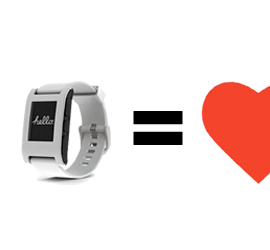 TimeLogger + Pebble = Love