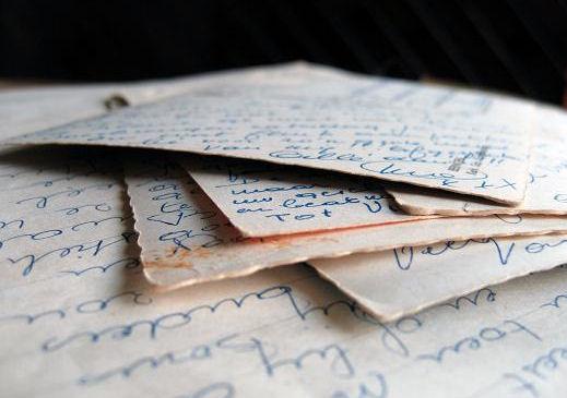 oude brieven, bewaarde bewijzen?