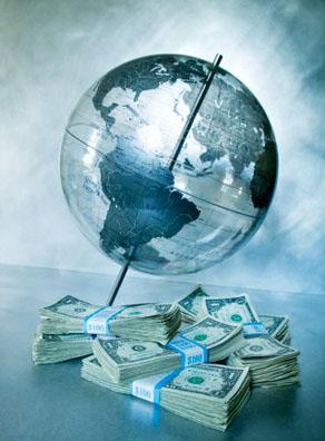 wereldregering met 1 wereld-geld-eenheid