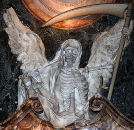 de dood, gevreesd door alle tijden!