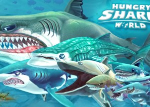 Hungry Shark World v1.4.0 Apk + Mod + Data For Android