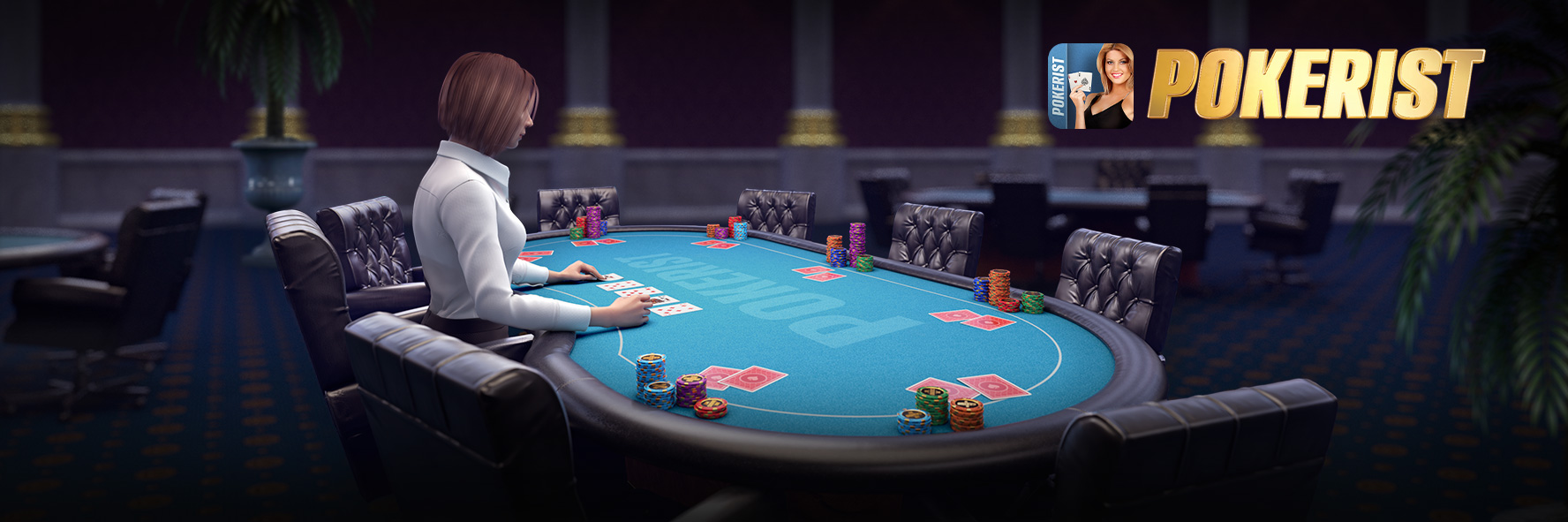 Texas Holdem Poker - Pokerist. Free online casino. cover