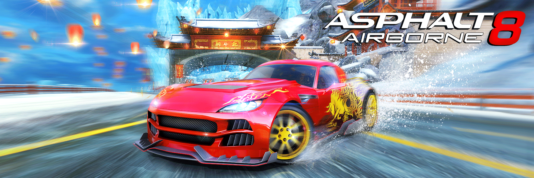 Asphalt 8 Racing Game - Drive, Drift at Real Speed cover