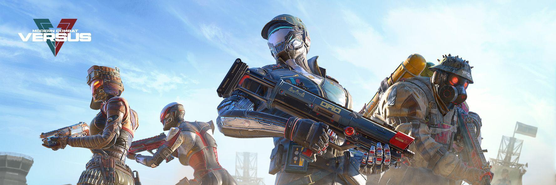 Modern Combat Versus: New Online Multiplayer FPS cover
