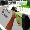 Pixel multiplayer battle royale
