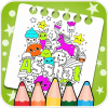 Doodle colouring book
