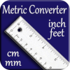 Metric Converter cm mm to inch feet