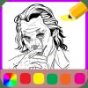 Heroes Joker Coloring Book