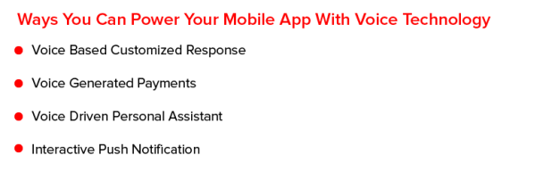 Ways You Can Power Your Mobile App With Voice Technology