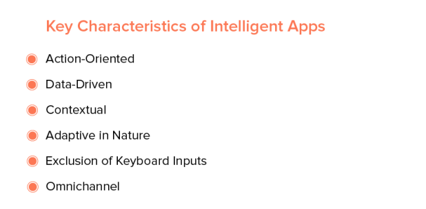 Key Characteristics of Intelligent Apps