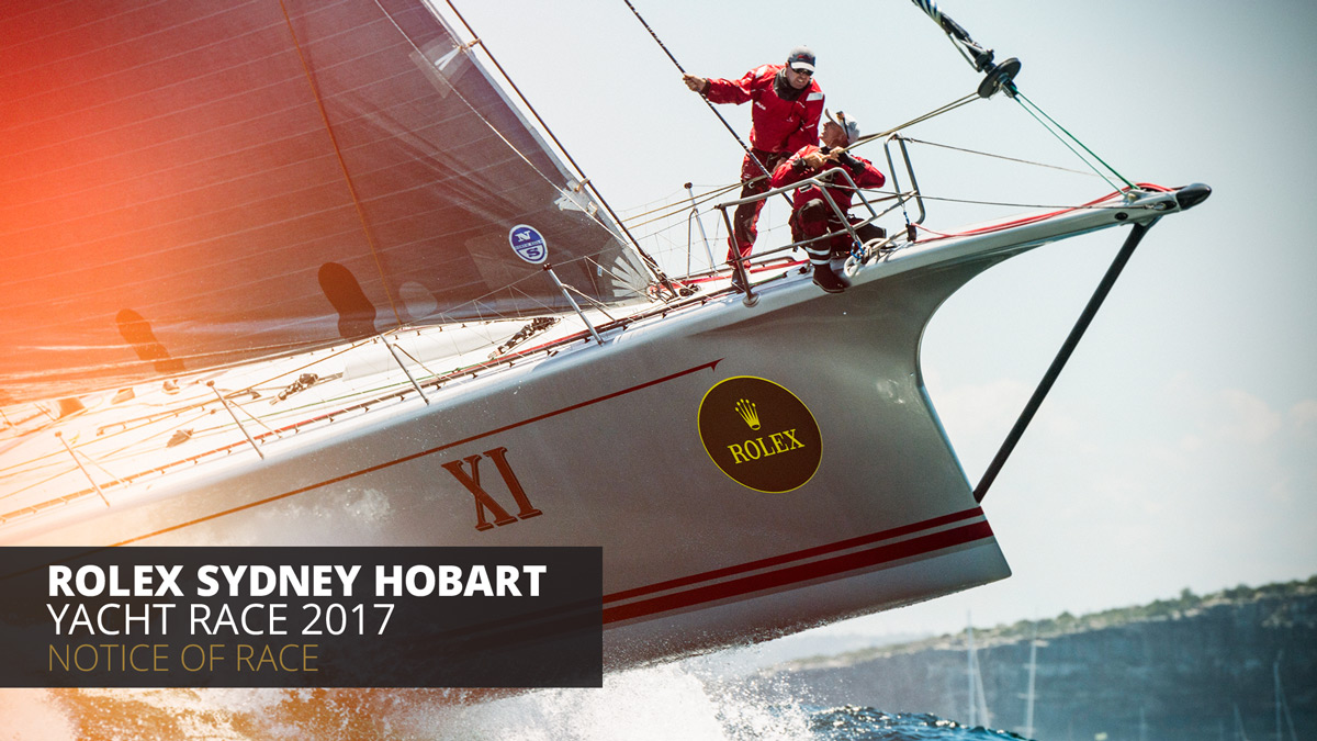 Event creative design agency for sydney to hobart yacht race