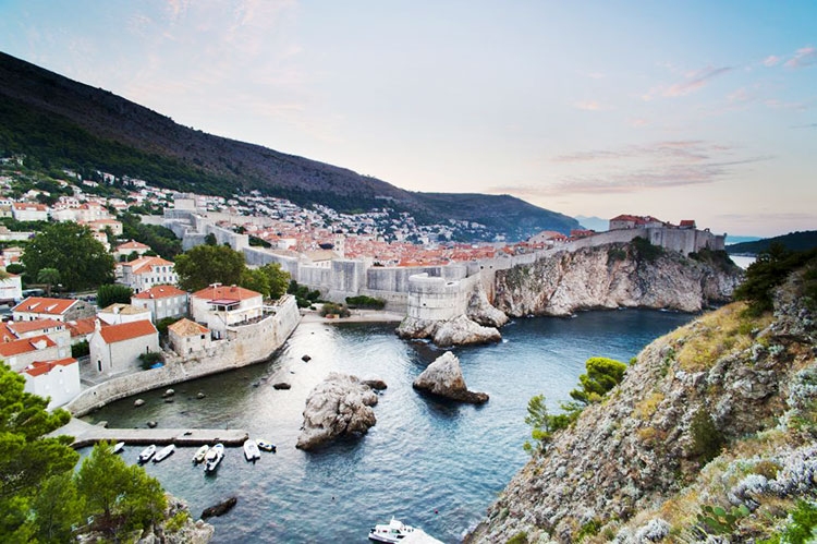 Dubrovnik Fortaleza Roja
