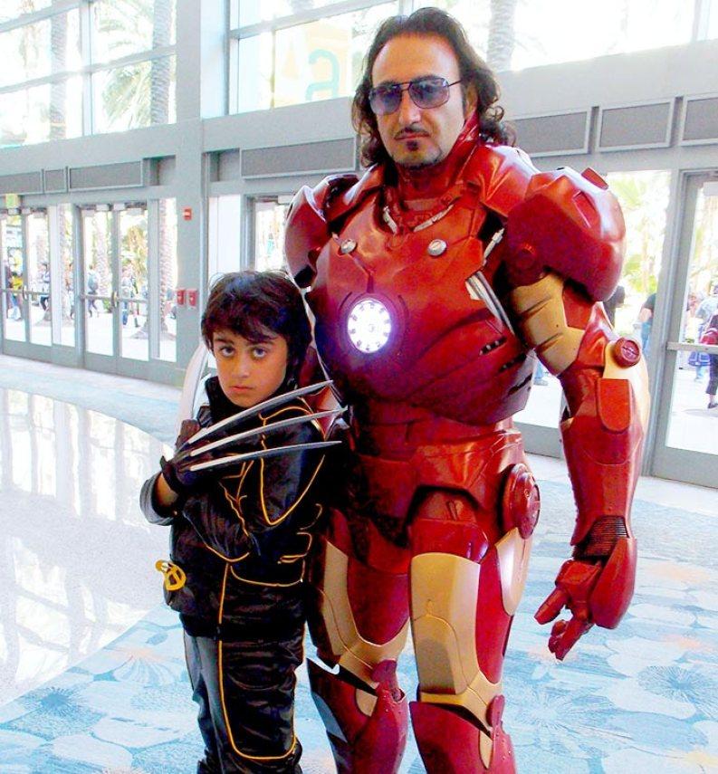 padre-hijo-wolverine-iron-man