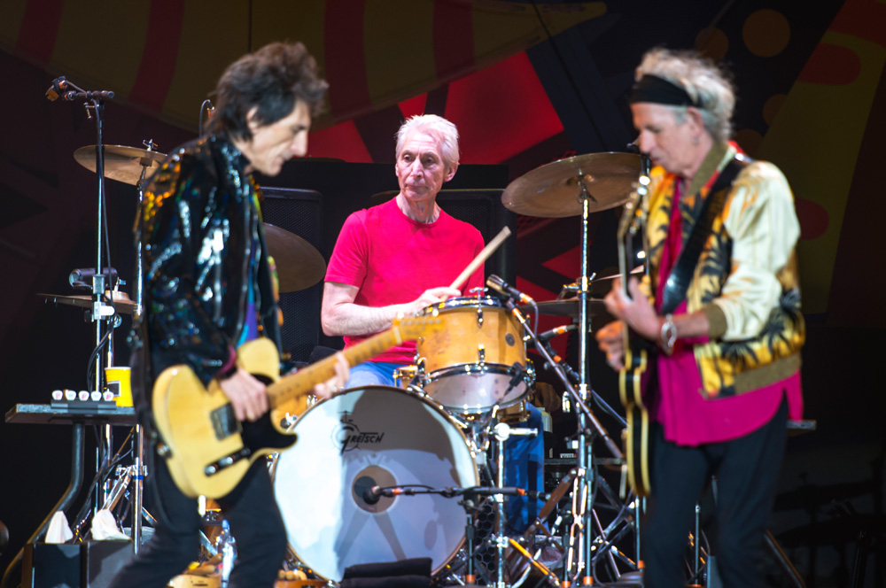 Charlie Watts - The Rolling Stones en Chile | Fotógrafo: Javier Valenzuela
