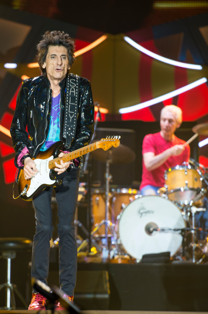 Ron Wood - The Rolling Stones en Chile | Fotógrafo: Javier Valenzuela