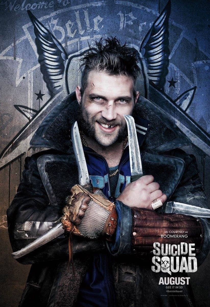 Suicide Squad protagonista poster Boomerang