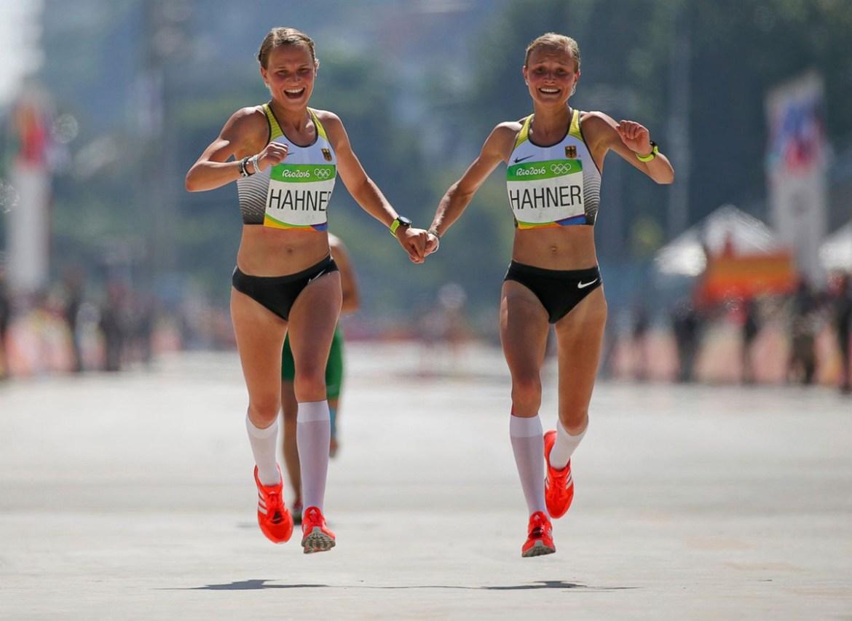 Rio 2016 maraton hermanas Alemania