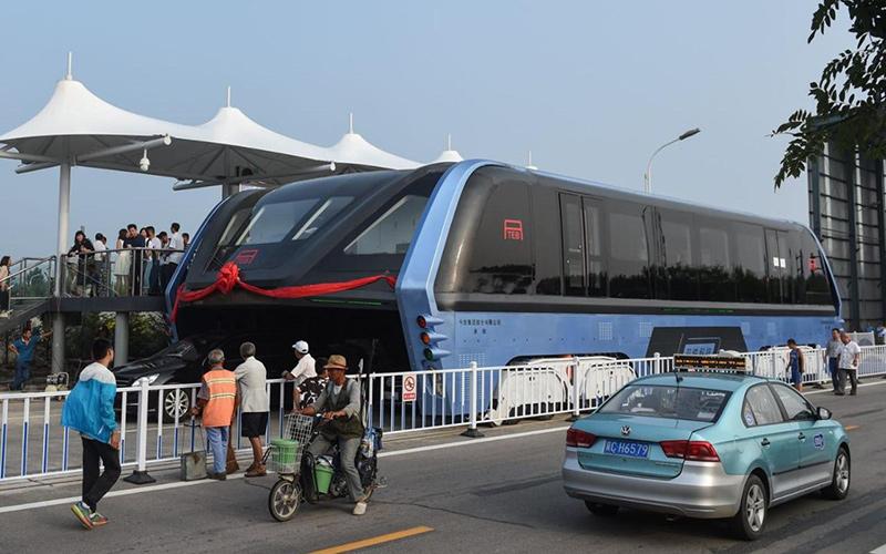 TEB bus transito elevado