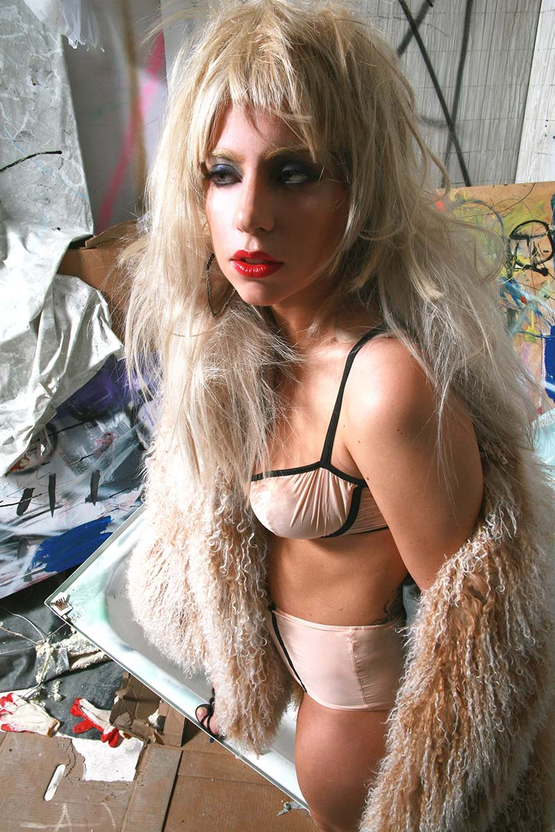 lady gaga por por mick rock