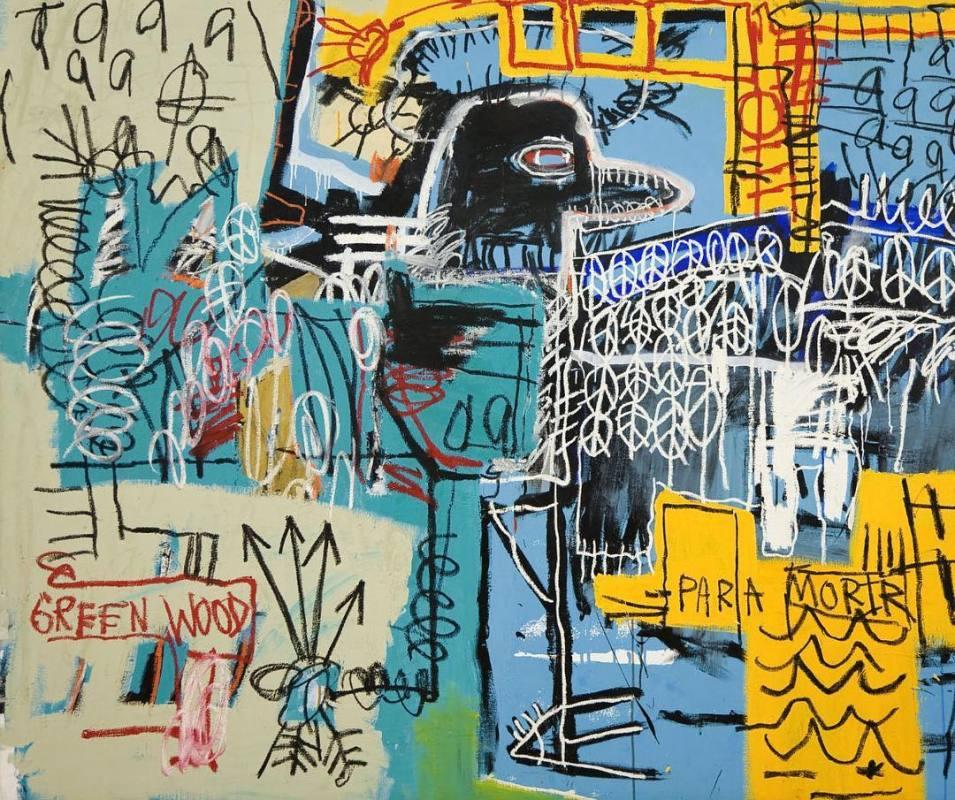 «Bird on Money» de Jean Michel Basquiat (1981)