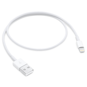 Apple laad+datakabel lightning 0,5m ME291