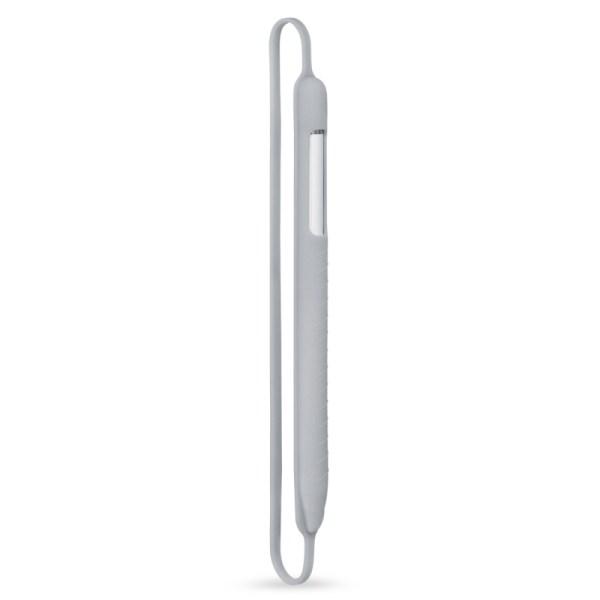 Apple pencil shock proof zachte siliconen beschermende cap houder Sleeve Pouch cover voor iPad Pro 9 7/10 5/11/12 9 potlood accessoires (grijs)