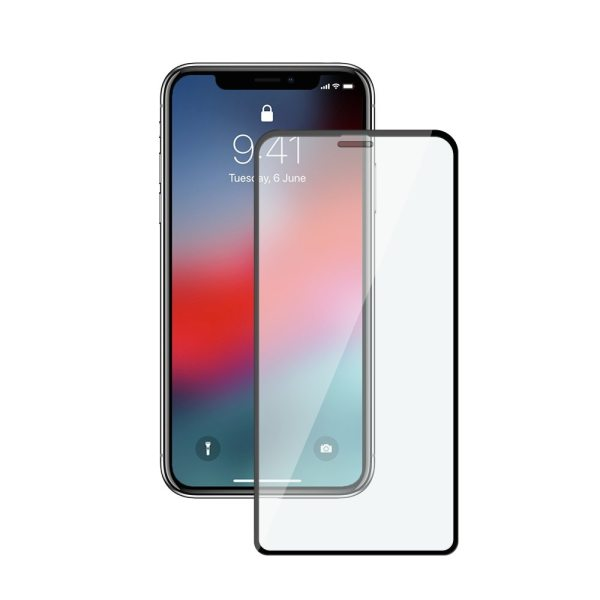 Curved Protective Tempered Glass For iPhone X XS 11 Pro Xs Max XR Glass Screen Protector on iPhone 7 8 6 6S Plus Glass Film