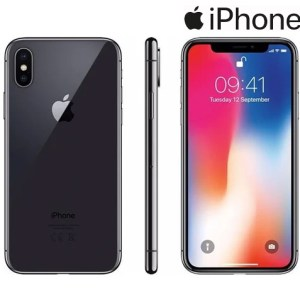 Refurbished Apple iPhone X 64GB met GRATIS Hoesje + Tempered Glass