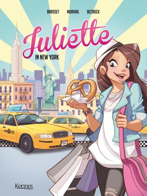 Juliette in New York - Lisette Morival, Rose-Line Brasset - Paperback (9789464006124)