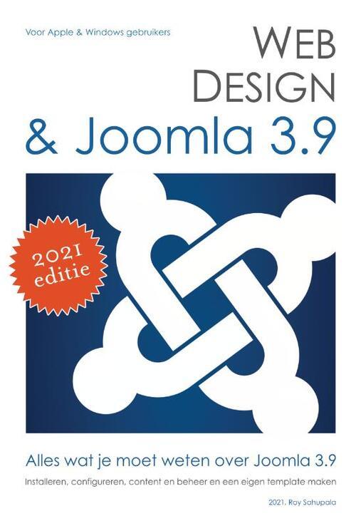 Webdesign en joomla 3.8 - Roy Sahupala - Paperback (9789081706223)