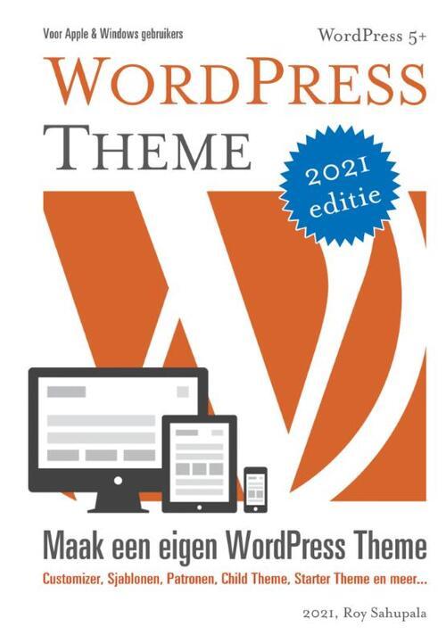 WordPress Theme - Roy Sahupala - Paperback (9789081706254)