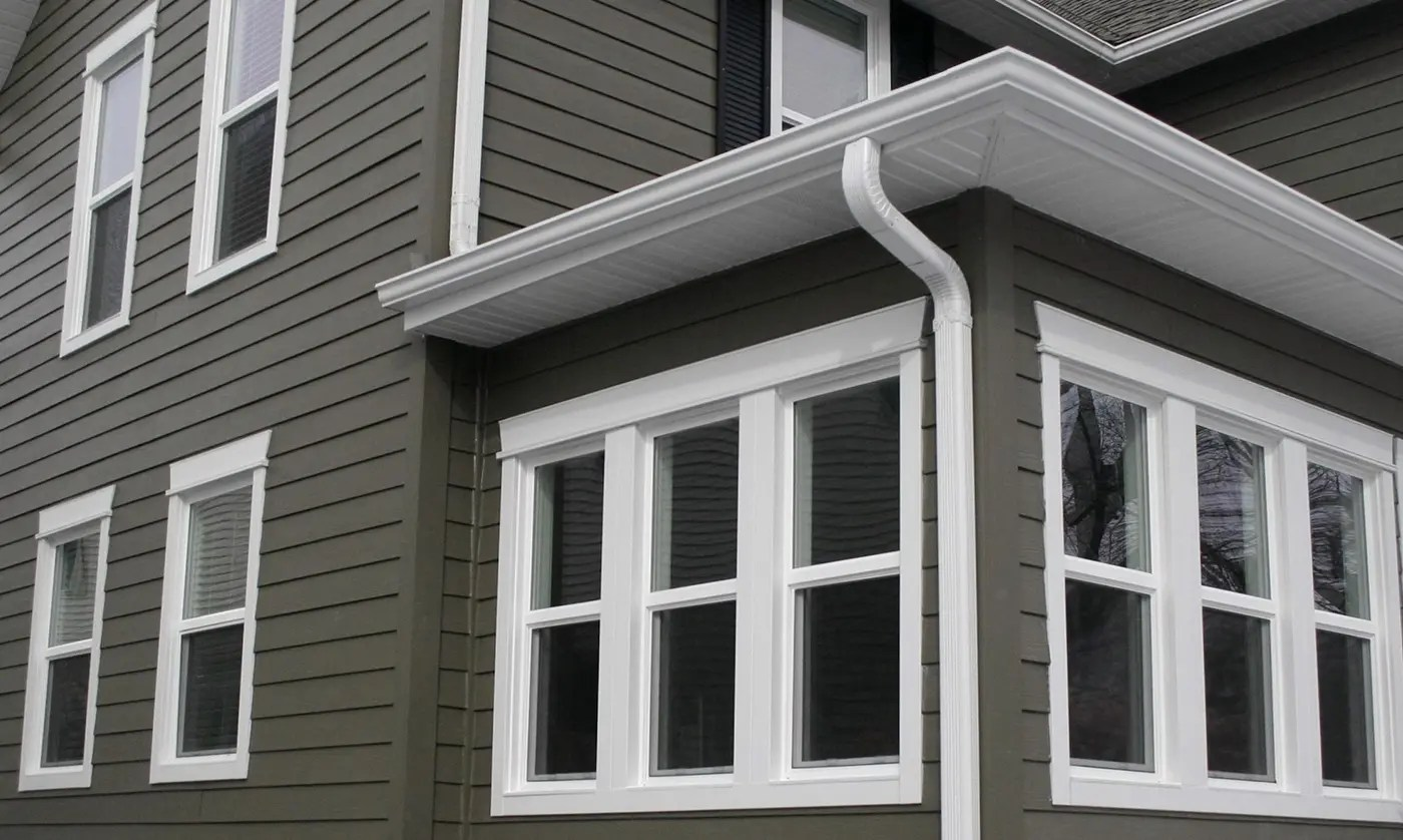 Hardie Plank with Windows
