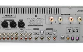 Parasound Hint 6 Integrated Amplifier Back