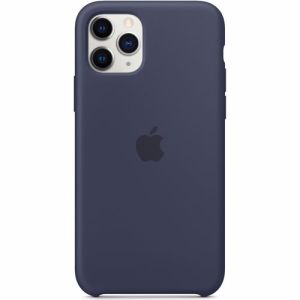 Apple siliconen telefoonhoesje iPhone 11 Pro (Blauw)