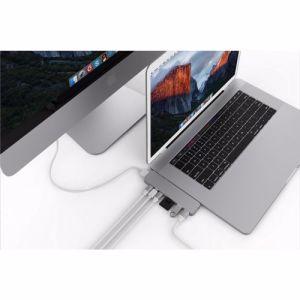 Hyper HyperDrive PRO USB-C hub voor MacBook Pro (Zilver)