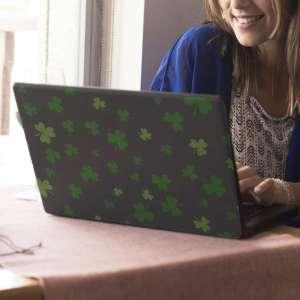 Laptop sticker klavertje drie