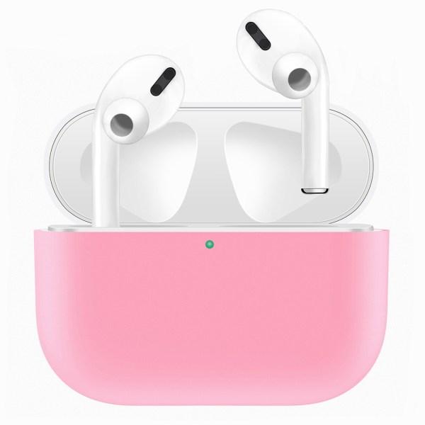 Voor Apple AirPods Pro tweekleuren draadloze oortelefoon beschermhoes (wit roze)