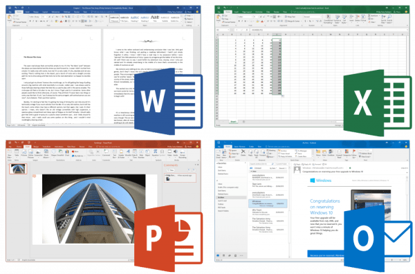 Microsoft Office 2016 for Mac Applications Example
