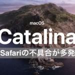 不具合:iOS13・iPadOS・macOSカタリナ(catalina):Safariがエラー出しまくり