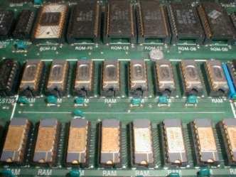 Apple II RAM array