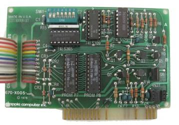Apple II Serial Interface Card