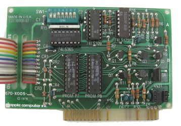 Apple II Serial Interface Card