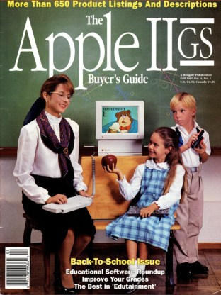 Apple IIGS Buyer's Guide V4N1 Fall 1990 cover
